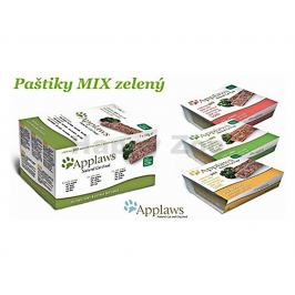 Multipack paštika APPLAWS Cat - Green 7x100g