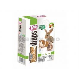 LOLO dropsy ořechové pro hlodavce