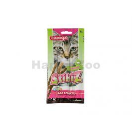 FLAMINGO Cat Snack Stickiz  - kuře a játra 15g (3ks)