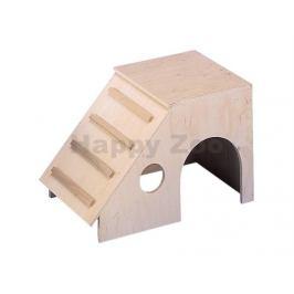 Dřevěný domek NOBBY Ronny pro hlodavce 31,5x18,5x21cm