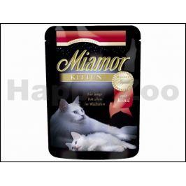 Kapsička MIAMOR Ragout Kitten - hovězí v želé 100g