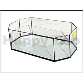 Želvárium skleněné osmihranné (S) 50x25x17cm