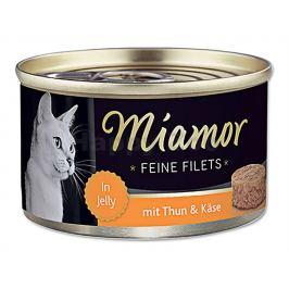Konzerva MIAMOR Fillet - tuňák a sýr 100g
