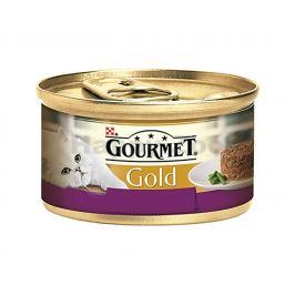 Konzerva GOURMET Gold - Savoury Cake jehněčí a zelené fazolky 85