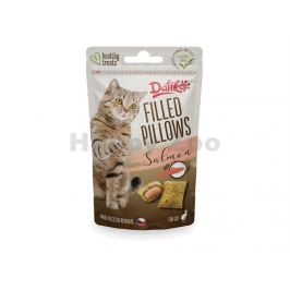 DAFIKO Filled Pillows with Salmon for Cats 40g