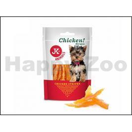 JK Dog Meat Snack - Puppy Chicken Strips 50g