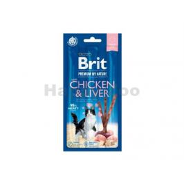 BRIT Cat Pemium by Nature Sticks Chicken & Liver (3ks)