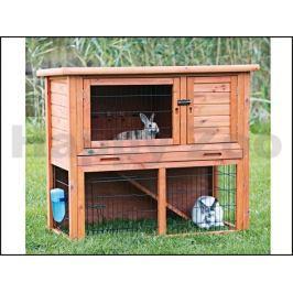 Dřevěná klec pro králíky TRIXIE 107x97x52cm