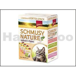 Kapsička SCHMUSY Nature Flakes Multipack - 4x3x100g