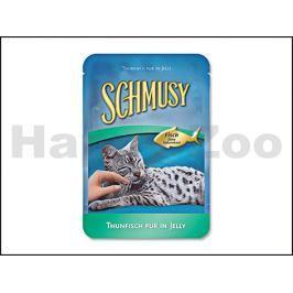 Kapsička SCHMUSY Fish - tuňák v želé 100g