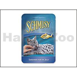 Kapsička SCHMUSY Fish - sardinky v želé 100g