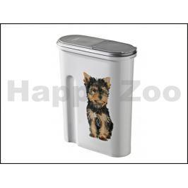CURVER plastový barel na krmivo pro psa 1,5kg