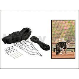 Ochranná síť pro kočky FLAMINGO černá 3x6m