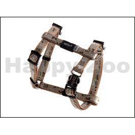 Postroj ROGZ Lapz Trendy SJ 520 J-Brown Bones (XS) 0,8x18-30x21-