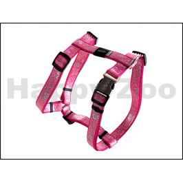 Postroj ROGZ Lapz Trendy SJ 523 K-Pink Bones (M) 1,6x37-64x40-70