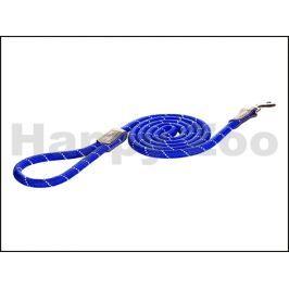 Vodítko ROGZ Rope HLLR 06 B-Blue (S) 0,6x180cm