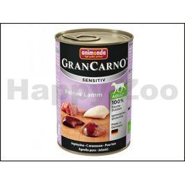 Konzerva GRAN CARNO Sensitiv čisté jehněčí 400g