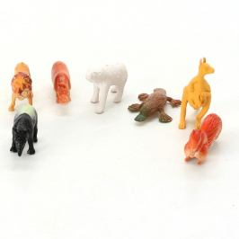 Figurky zvířat z džungle, 7 ks