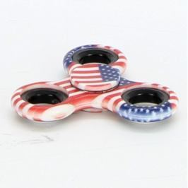 Spinner Fidget motiv americká vlajka