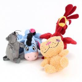 Plyšové hračky zvířátka 4 druhy