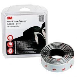 3M™ Hook & Loop™ Samolepící suchý zip SJ352B, 25mm x 1,25m