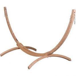 LA Siesta Canoa stojan pro single houpací síť wood