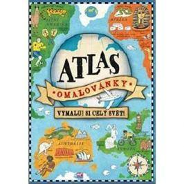 Atlas omalovánky: Vymaluj si celý svět!