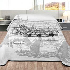 Forbyt přehoz na postel Praha, 140 x 220 cm