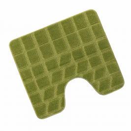 Bellatex Koupelnová předložka STANDARD 60x50 Mech zelená