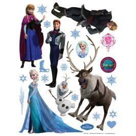 AG Art Samolepicí dekorace Ledové království, 30 x 30 cm