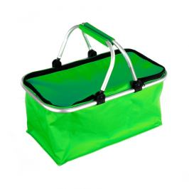 Nákupní skládací košík zelená