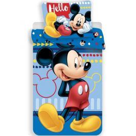 Jerry Fabrics Dětské bavlněné povlečení Mickey 004, 140 x 200 cm, 70 x 90 cm