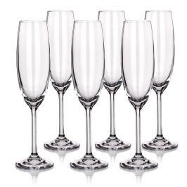 Banquet 6dílná sada sklenic na šampaňské, 220 ml