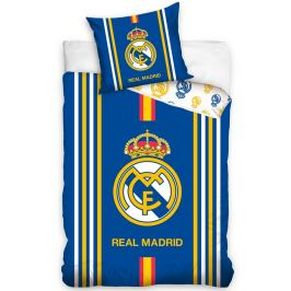 CarboTex Bavlněné povlečení Real Madrid Centro Amarillo, 140 x 200 cm, 70 x 80 cm
