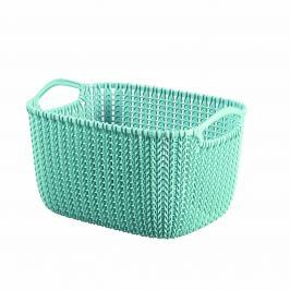 Curver Úložný box Knit 8 l, světle modrá