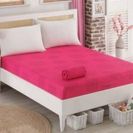 BedTex Prostěradlo jersey Sedef růžová