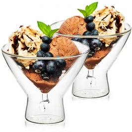 4home Termo poháry na zmrzlinu Elegante Hot&Cool, 200 ml, 2 ks
