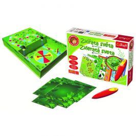 Trefl Malý objevitel Zvířata světa kouzelná tužka edukační v krabici