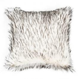Bo-ma Povlak na polštářek Claire černobílá, 45 x 45 cm