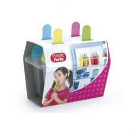 Forma na nanuky 4ks; 15,5x9,5x15,5 cm; plast; mix barev