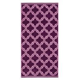 JAHU Ručník Castle fialová, 50 x 100 cm