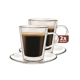 Maxxo Lungo 2dílná sada termo sklenic, 220 ml,