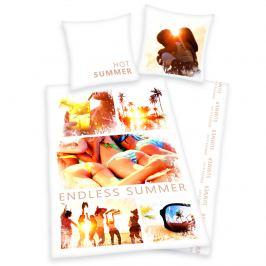 Herding Bavlněné povlečení Summer, 135 x 200 cm, 80 x 80 cm