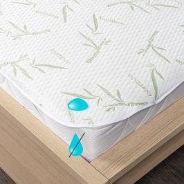 4Home Bamboo Nepropustný chránič matrace s gumou, 200 x 200 cm