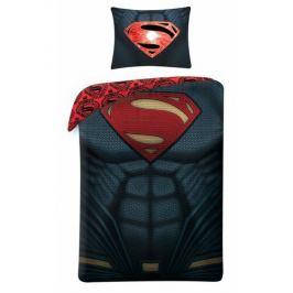 Halantex Bavlněné povlečení Superman 4003, 140 x 200 cm, 70 x 90 cm