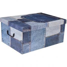 Úložný box Jeans, modrá