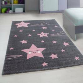 Vopi Kusový dětský koberec Kids 610 pink, 120 x 170 cm