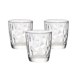 Bormioli Rocco 3dílná sada sklenic Diamond, 300 ml