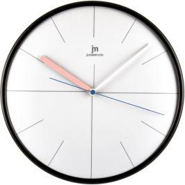 Lowell 14962S Designové nástěnné hodiny pr. 25 cm