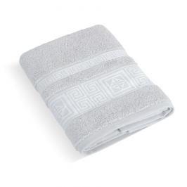 Bellatex Froté ručník Řecká kolekce sv.šedá, 50 x 100 cm